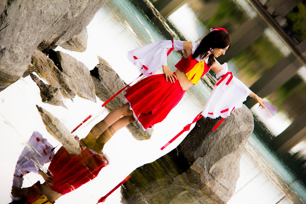 Defeated Reimu 13 - Even like this, I'll beat you. by simakai