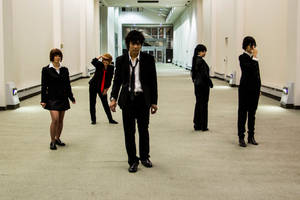 Psycho-Pass 5 - Hallway