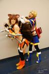 Noel and Makoto @ Otakuthon 2014 - 3
