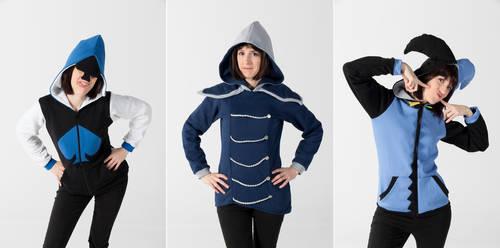 Deltarune hoodies Part 2 by simakai