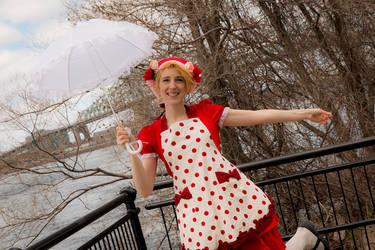 Suzie Q 2 - Happy umbrella by simakai