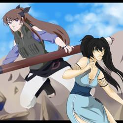 Hatsu and Yuna by Celesta15