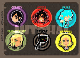 Cesary badges