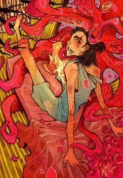 Red tentacles (Shin)