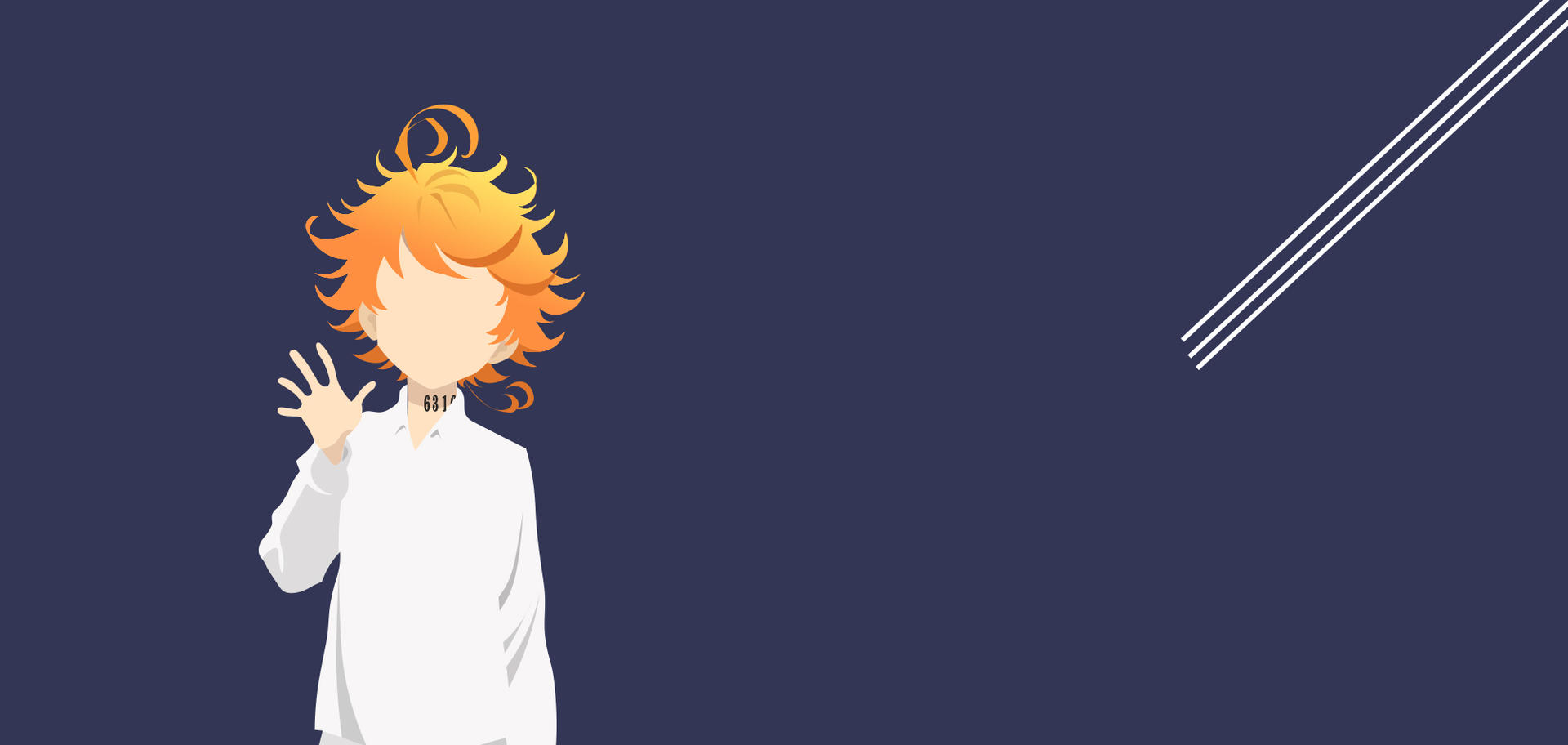 Emma In Promise Neverland Wallpaper Minimalist By Jtwist009 On