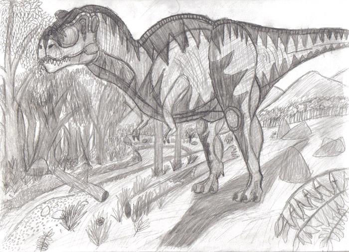 Tyrannosaurus by tyrannosaurtj