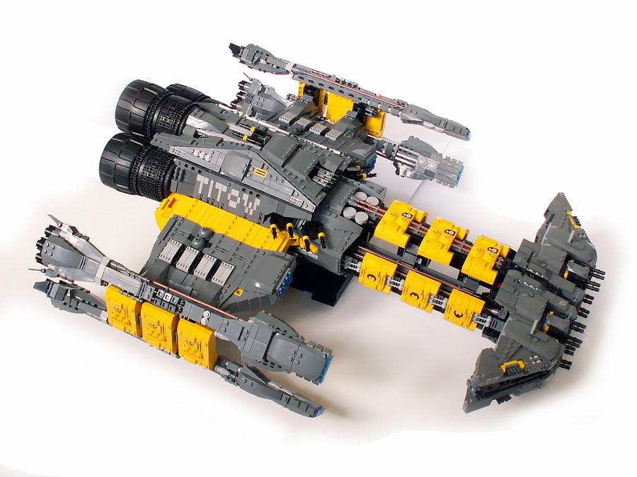 Starcraft Battlecruiser Titow By Scharnvirk On Deviantart