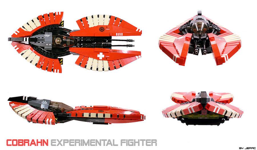 Cobrahn starfighter by Scharnvirk