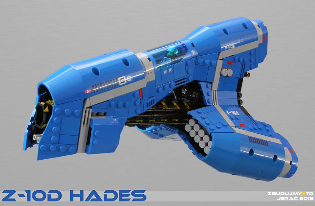Z-10d HADES Beam-Starfighter by Scharnvirk