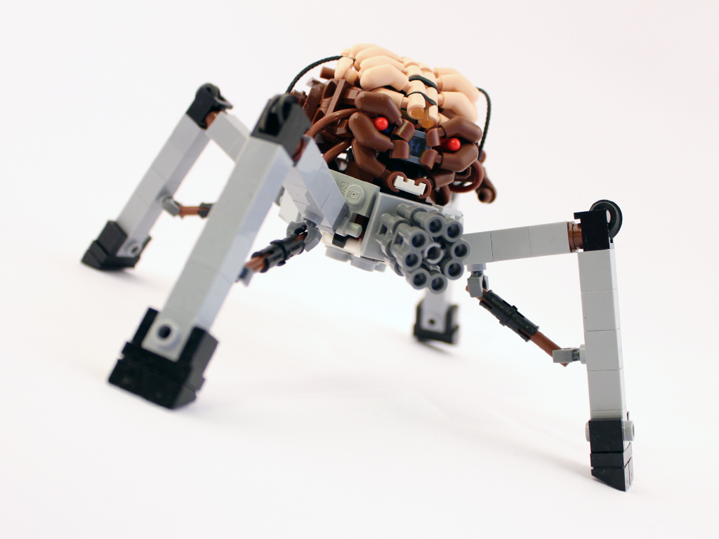 DOOM Spiderdemon in LEGO by Scharnvirk