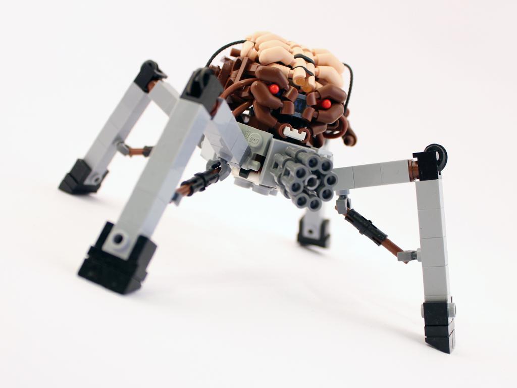 DOOM Spiderdemon in LEGO by Scharnvirk