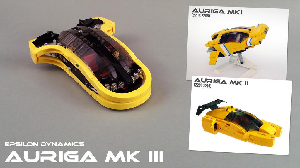 Auriga MKIII hovercar by Scharnvirk