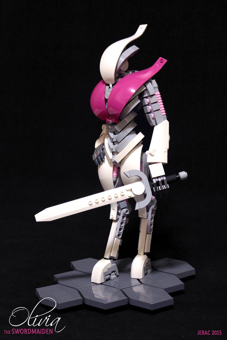 The Swordmaiden by Scharnvirk