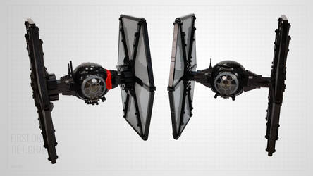 First Order TIE Fighters by Scharnvirk