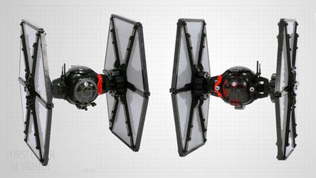 First Order Special Forces TIE Fighter by Scharnvirk