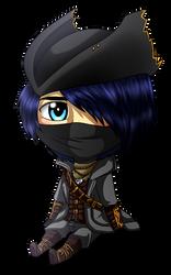 Chibi Hunter by MythicalWolfAngel