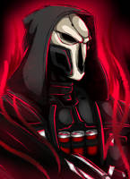 Overwatch Reaper by MythicalWolfAngel