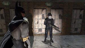 Hostage part-1 (Batman intervention)