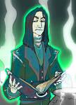 Severus Snape by X-LordGreg-X