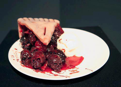 Skull Cherry Pie by EmperorOfTheDamned