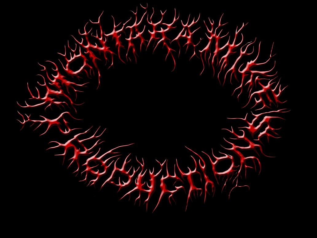 illegible black metal logo - photo #12