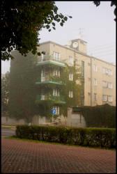 Fog in Lodz - 2 by ElegantAndrogyne