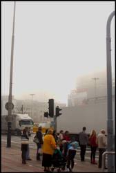 Fog in Lodz - 4
