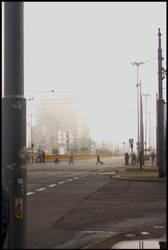 Fog in Lodz - 5