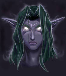 Night elf by Tur-Ture