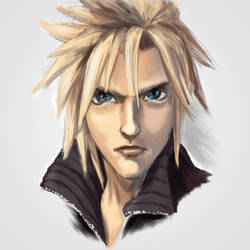 Cloud Strife by Tur-Ture