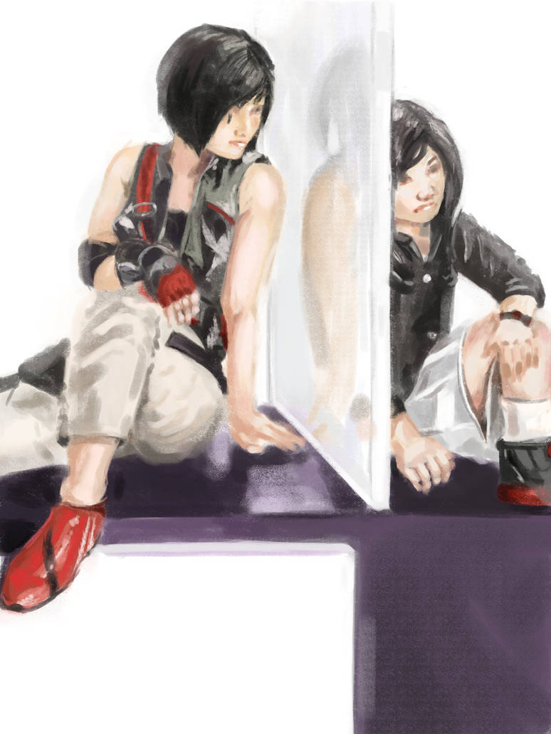 Daily Drawing - Faith from Mirrors Edge (7/17)