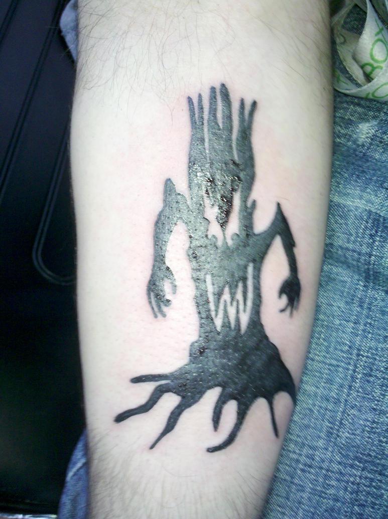 Marilyn Manson Tattos: Marilyn Manson Tree Tattoo By Edge3214 On DeviantArt