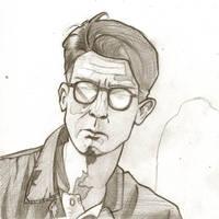 Winston Smith, pencil by Wainyman