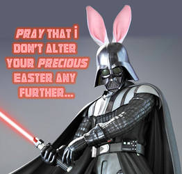 Easter Vader by Quikdeth