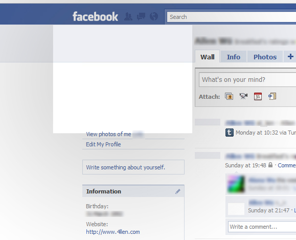 preview blank fb profile pic by 4113n on deviantart