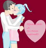 One small kiss by Momo-Hibiki