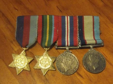 Grandpa's WW2 medals