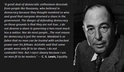 C.S Lewis dropping truth bombs