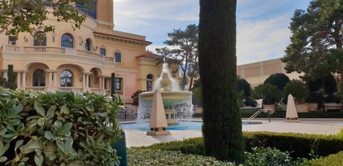Courtyard of the Bellagio