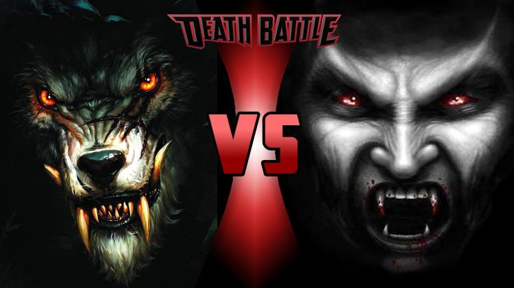Werewolf vs Vampire by Mora0711 on DeviantArt