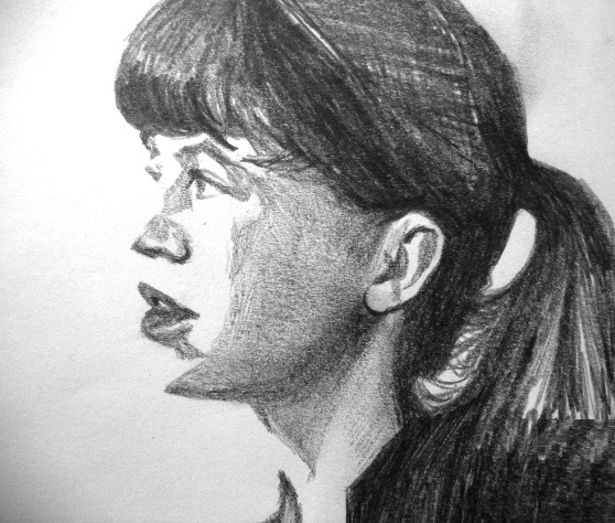 Sylvia Plath by raschiabarile