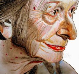 Wislawa Szymborska by raschiabarile