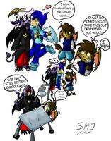 Random comic coloured by SandraMJ