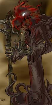 Death coloured