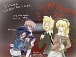 Hanako's birthday party
