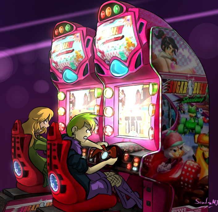 Sugar Rush Arcade Machine