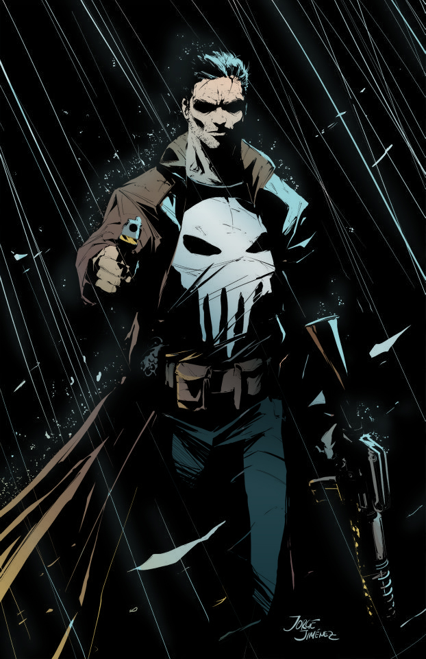 Image result for the punisher comics art