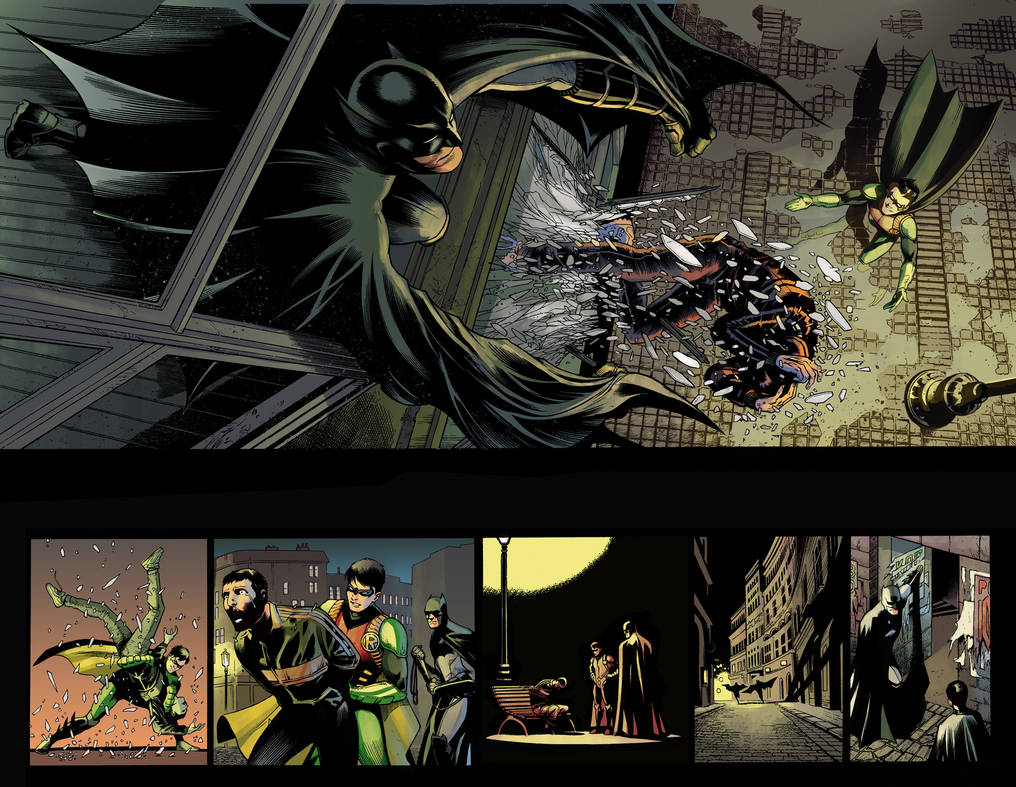 Batman and Robin Eternal #7 2-3