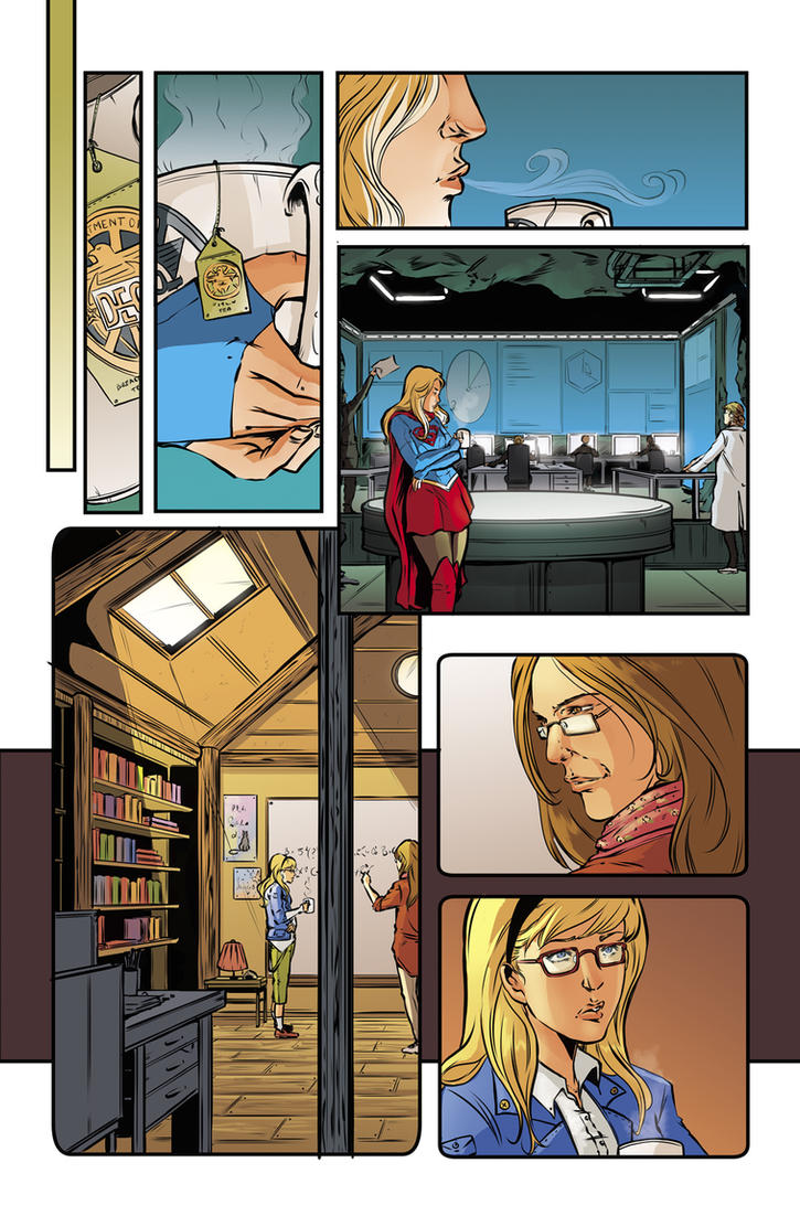 The adventures of supergirl #11 1 by SandraMJ