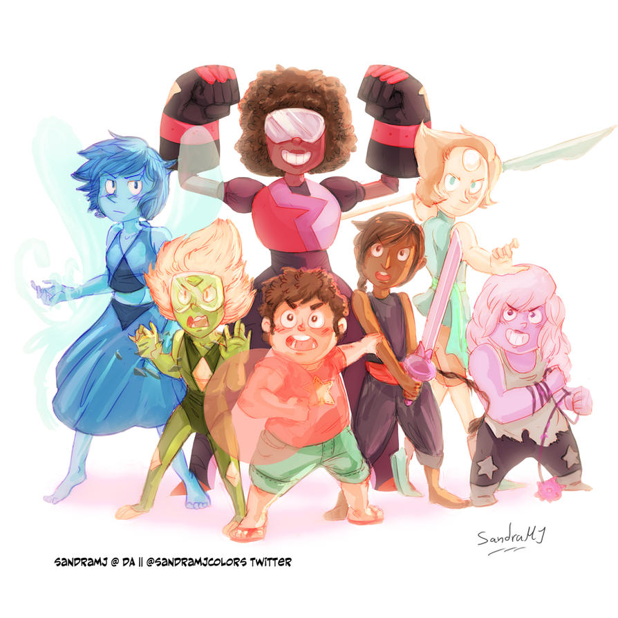 We are the crystal gems by SandraMJ